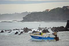 Fishing (YellowSingle ) Tags: fishing boat atlantic ocean nikon d3 socoa miquelon pays basque