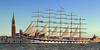 """Il """"Royal Clipper"""" sfila di fronte a San Giorgio (FM54TO) Tags: italia italy venezia giudecca sangiorgio royalclipper veliero tallship nave mare elitegalleryaoi bestcapturesaoi"""