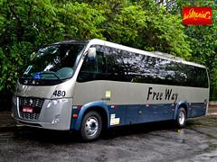 Transporte Escolar Free Way 480 (busManíaCo) Tags: busmaníaco nikond3100 nikon d3100 rodoviário turismo transporte escolar free way carro 480 volare w9 fly agrale