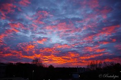 Sky on Fire 3 (Pentalopes) Tags: amanhecer