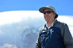 Dad on Third Burroughs (Sotosoroto) Tags: dayhike hiking mtrainier rainier burroughsmountain burroughsmtn mountains washington cascades