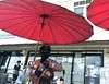 Thai police - Bangkok (ashabot) Tags: red people thailand thai street city internationalcities bangkok streetscenes