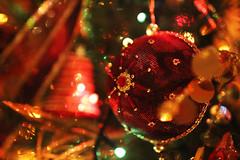 Christmas decoration (Katrinitsa) Tags: christmas2016 christmas colors greetings holidays happy happiness red green tree christmasdecoration christmaslights christmastree lights shadows shadow light decoration interior indoors design balls gold bokeh flower golden snowman white shine shinning sparklinglights sparkling canon canoneosrebelt3i ef35mmf14lusm house magic majestic ornaments