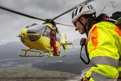 Elifriulia EC-135 I-HUNK MRS (Dimitrije Ostojic) Tags: ec135 eurocopter rescue mountain hems italy tolmezzo helicopter sar searchandrescue