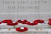 4 - Bayeux, Cimetière Militaire Britannique, Their name liveth for evermore (melina1965) Tags: normandie calvados bayeux octobre october 2016 nikon d80 cimetière cimetières cemetery cemeteries graveyard graveyards red rouge coquelicot coquelicots poppy poppies
