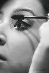(Sabrina Capoferri) Tags: portrait blackandwhite bw eye girl eyes makeup bn occhi mascara ritratto occhio biancoenero ragazza trucco