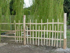 "Rustic Chestnut fencing • <a style=""font-size:0.8em;"" href=""http://www.flickr.com/photos/61957374@N08/7079588335/"" target=""_blank"">View on Flickr</a>"