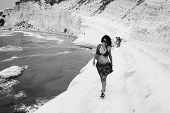 white cliffs in sicily (gorbot.) Tags: beach pregnant sicily scaladeiturchi