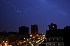 Rayos y Centellas (dgomez_h) Tags: storm water rain night clouds lights luces noche stormy bilbao rainy tormenta lightening rayo electrical lightnings watershowers