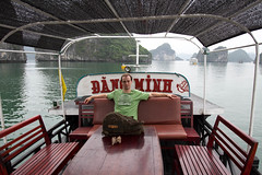 Halong Bay - Vietnam (Rachel De Stijl) Tags: lunch boat sailing vietnam caves halongbay catbaisland floatingvillages rachelpressick