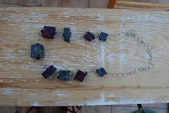 prove catalogo 043 (Basura di Valeria Leonardi) Tags: basura collane polistirolo reciclo cartadiriso riciclo provecatalogo