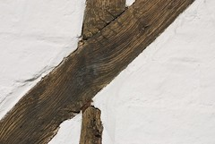 Thatched cottage wall beams (Whippet Fancier) Tags: old abstract up wall close cottage bedfordshire beams thatched