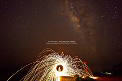 Star_Milky Way vs Steel Wool (Mardy Suong) Tags: wool way photo cambodia steel player kampong milky cham trong stueng mardyphotography