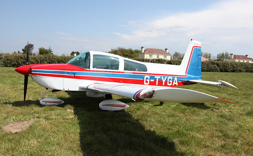 G-TYGA Grumman-American AA5B Tiger on 17 May 2013