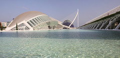 Valencia - City of Arts and Sciences 75 panorama (Romeodesign) Tags: bridge santiago panorama water valencia museum architecture modern spain arch wide calatrava ciudaddelasartesylasciencias lhemisfric lumbracle flixcandela cityofartsandsciences 550d elmuseudelescinciesprncipefelipe puentedemonteolivete elpontdelassutdelor pontlassutlor