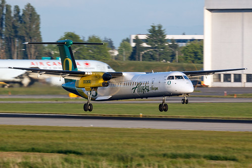 Horizon Air | De Havilland Canada DHC-8-401Q Dash 8 | N407QX