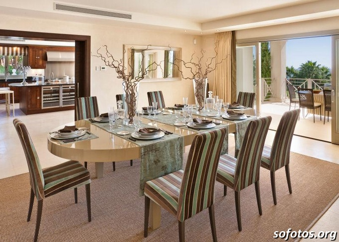 Salas de jantar decoradas (86)