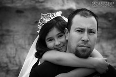 Daddy Daughter (AgentThirteen) Tags: girls portrait kids formal 1stcommunion