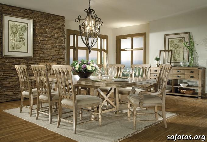 Salas de jantar decoradas (154)