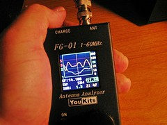 YouKits FG-01 Antenna Analyzer - Re-Edit of a Previous Post (Daryll90ca) Tags: ham hamradio amateurradio fg01 youkits