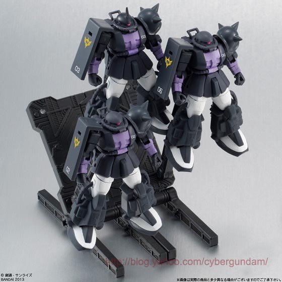 BANDAI GUNDAM Assault Kingdom EX2 高機動型薩克 黑色三連星