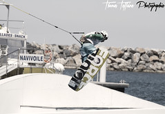 WakeBoard (Thomas Teffaine Photographie) Tags: sea sky sun france apple water photoshop canon lens eos is mac eau surf wake raw view wind zoom ciel wakeboard usm perpignan mediteranne cs4 pyrenee cs5 70200f4is eos7d canoneos7d canon7d teffaine madinc