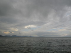 May 17, 2013 (the brilliant magpie) Tags: trip travel vacation sky italy lake storm rain clouds dark lago italia gray umbria trasimeno passignano