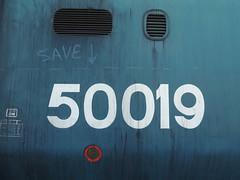 50019 Ramillies MNR Class 50 Weekend 2nd June 2013 (Ian Sharman 1963) Tags: abbey june train diesel weekend norfolk engine railway loco class 2nd hoover passenger 50 mid wymondham mnr dereham indomitable 50019 2013 ramillies thuxton 50026