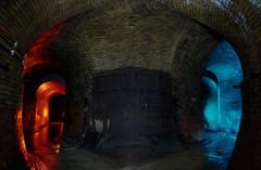 Matrix (Londons Fleet River) (Me.Two) Tags: blue light red two urban london me river painting underground nikon fleet exploration d600 2013 metwo