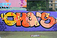 South London (8333696) Tags: street urban streetart london art st wall tin graffiti mural paint artist south can spray painter spraypaint graff aerosol omg brixton stockwell ldn