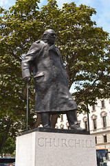 Churchill (mrgarethm) Tags: uk london westminster square prime britain parliament hero churchill kg om pm leonard minster winston dl ch td frs spencerchurchill httpwwwgeordieboreorguk garethmilner geordiebore