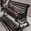 wet paint (Aleka Iakovidou) Tags: wet monochrome bench hintofcolor