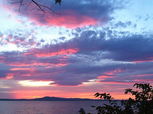 Sebago Lake & Clouds - J Epstein