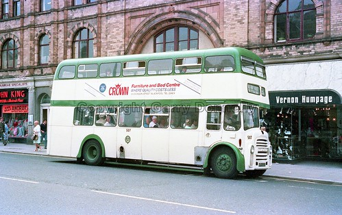 Blackpool Corporation 507 HFR 507E