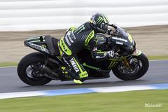 Monster Yamaha Tech 3 - 35 - Cal Crutchlow - Entrenamientos MotoGP Jerez 2013 (DGrimaldi) Tags: españa david monster canon tech andalucia moto yamaha deporte motogp 35 cádiz franco jerez circuito grimaldi 70300 barrido 550d paneo calcrutchlow dgrimaldi