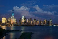 Dark Clouds over Manhattan (augieray) Tags: nyc newyork manhattan wtc oneworldtradecenter
