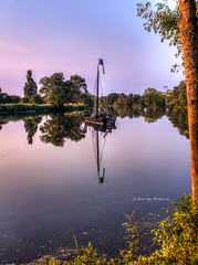 reflection (DinaristyaPhotoProjects) Tags: france reflection canon photography landscapes hdr landscapephotography hdrphotography