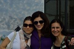 Lucia Adverse, Claudia Martini e Soraya Montanheiro, fotgrafas. (Claudia Martini) Tags: corcovado cristo jmj rio2013 jmj2013 papafrancisco caumartini