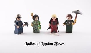 Steampunk Lego Ladies