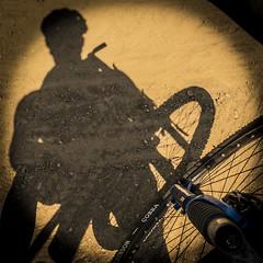 Bikeshadow (fluxura95) Tags: shadow bike mud ombra bici polvere mountaibike