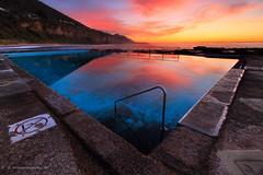 Coalcliff Pool (SoniaMphotography) Tags: ocean blue pool clouds sunrise coast natural australia coastal nsw tidal wispy illawarra coalcliff