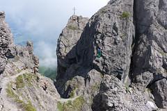 The Three Sisters trail . Liechtenstein (Toni_V) Tags: mountains nature landscape hiking rangefinder trail liechtenstein wanderung wanderweg rätikon summiluxm 2013 ländle 130706 35mmf14asph 35lux messsucher ©toniv leicam9 dreischwesternsteig fürstensteigdreischwesternweg l1012639