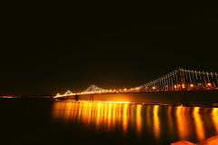 IMG_2395 (J a y a  u 1) Tags: sanfrancisco bridge night digital canon photography eos rebel lights oakland bay kiss efs 1022mm x3 500d t1i