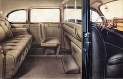 1941 Lincoln Custom Limousine  Interior (aldenjewell) Tags: interior lincoln custom brochure limousine 1941