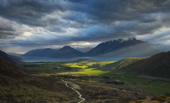 Remarkable Light (Taha Elraaid) Tags: light newzealand mountain landscape amazing land queenstown scape taha remarkable elraaid beautyofnaturelandscape potd:country=menaar
