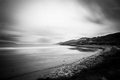 Inch Beach (Simone De Iuliis) Tags: longexposure trip ireland sea sky blackandwhite bw irish cloud sun w