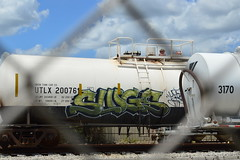 Slugs (Stalkin The Lines) Tags: train graffiti slugs freight btm omt upsk