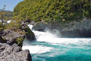 Petrohue falls, near Puerto Varas, Chile