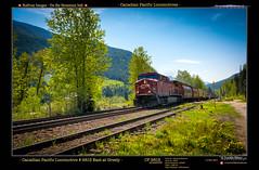 Greely120-Moving thru Springtime.jpg (Revybawb2010) Tags: railways cpr locomotives greely albertpeaks artoileffect