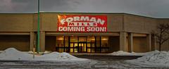 Forman Mills Coming Soon! (Nicholas Eckhart) Tags: usa retail mi america shopping us michigan pontiac stores mills 2015 centermervynsdepartment storeforman oaklandpointe